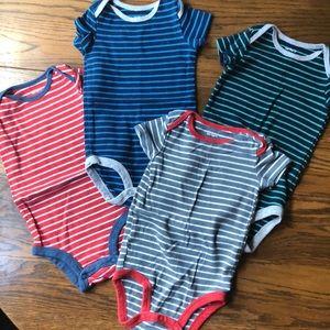Carter's Striped Onesie Set